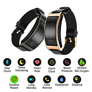 cheap Smart Wristbands-CK11S Smart Bracelet Blood Pressure Smartwatch Heart Rate Monitor Wrist Watch Fitness Bracelet Sport Pedometer Wristband Calorie