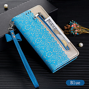 cheap Samsung Case-Case For Samsung Galaxy A70 / A50 Wallet / Card Holder / Flip Full Body Cases Solid Colored PU Leather for A7(2018) / A8(2018) / A5(2017) / A6(2018) / A20E / A60 / A30 / A40 / A10