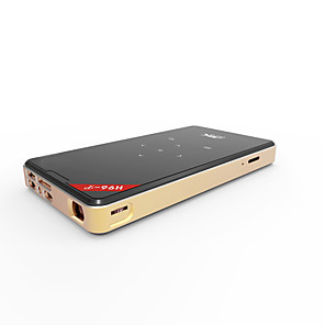 cheap Projectors-Amlogic S905X quad-core 4 k Android6.0 intelligent micro shots double WiFi BT4.0 kodi17.6 DDR3 (1G /8G) H96-P