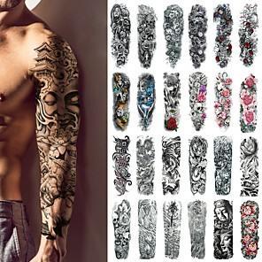 cheap Tattoo Stickers-1 pcs Temporary Tattoos Classic Body / brachium / Leg Water-Transfer Sticker