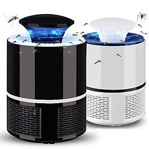 cheap Flashlights & Camping Lanterns-1 pc USB Insect Repeller Mosquito Light Pest Repeller 5V White  Black
