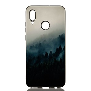 cheap Huawei Case-Case For Huawei P20/P20 Pro/P20 lite Shockproof / Frosted / Pattern Back Cover Scenery TPU Soft For Huawei P Smart 2019/P30/P30 Pro/P30 Lite/P Smart Plus/P8 Lite 2017/P9 Lite mini/P10/P10 Lite