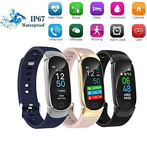 cheap Smart Wristbands-QS01 Smart Bracelet Bluetooth Color Screen Heart Rate Monitor Blood Pressure Measurement Fitness Tracker Waterproof Smart Watch