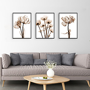 cheap Framed Arts-Framed Art Print Framed Set - Still Life Floral / Botanical PS Photo Wall Art