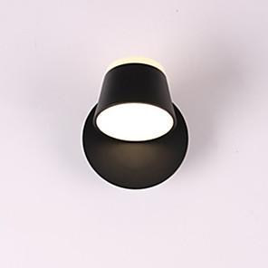 cheap Indoor Wall Lights-360 Grados-Lmpara De Pared LED Ajustable Para Dormitorio Cama Bao Pared Sconce Pared Blanca Luminaria Moderna Iluminacin De Hotel
