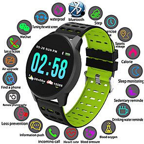 cheap Smartwatches-W1 Smart Watch Bluetooth Fitness Tracker Support Notify/ Heart Rate Monitor Sports Smartwatch Compatible Iphone/ Samsung/ Android Phones