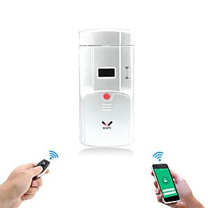 cheap Door Locks-WAFU No Wire Smart Invisible Door Lock WIFI Remote Home Door Lock Tuya App Door Lock support iOS/Android System(WF-011W)