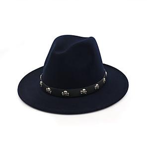 cheap Party Hats-100% Micro Fiber Headwear with Metal 1 Piece Kentucky Derby / Horse Race Headpiece