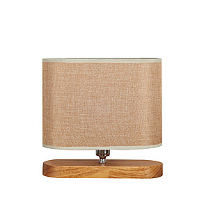 cheap Table Lamps-Table Lamp / Reading Light Ambient Lamps / Decorative Modern Contemporary For Bedroom / Shops / Cafes Wood / Bamboo 110-120V / 220-240V