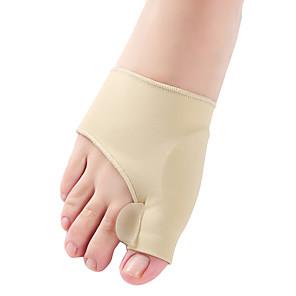 cheap Facial Care Devices-1Pair Toe Separator Hallux Valgus Bunion Corrector Orthotics Feet Bone Thumb Adjuster Correction Pedicure Sock Straightener