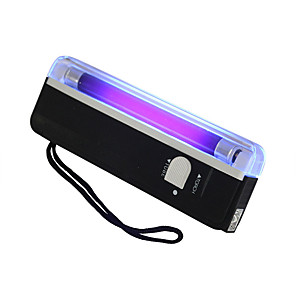cheap LED Smart Home-Held UV UV Black Light Flashlight Portable LED Flashlight Mini Portable Light Work Light