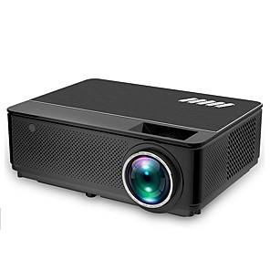 cheap Projectors-HTP M6 LED Projector Android Projetor 4500 Lumens WiFi Support Full HD 1080P Home Theater HDMI LCD Proyector Bluetooth