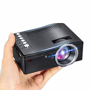cheap Prom Dresses-UC18 LED Projector Full HD 1080P Home Theater Beamer Cheap Proyector with HDMI AV SD VGA