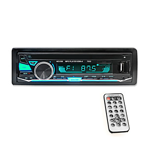 cheap Car DVD Players-hevxm mp3-7003 1 DIN Car MP3 Player MP3 / Built-in Bluetooth / Subwoofer Output for universal Bluetooth Support MP3 / WAV / Stereo Radio / IR Remote Control