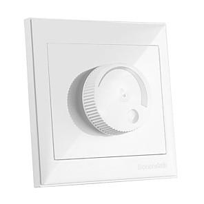 cheap Light Switches-1pc 220-240 V / 110-130 V Bulb Accessory / Strip Light Accessory Plastic & Metal Dimmer Switch for RGB LED Strip Light / for DIY LED Flood Light Spotlight / for LED Strip light