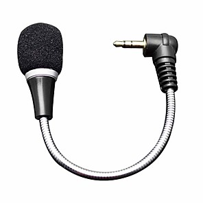 cheap Microphones-Microphone Dynamic Microphone Wired 2.2 ohm for Studio Recording & Broadcasting Laptop Mobile Phone iMac