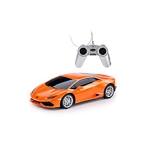 cheap Toy Cars-1:24 Toy Car Music Car Remote Control / RC Parent-Child Interaction Plastic Shell Mini Car Vehicles Toys for Party Favor or Kids Birthday Gift