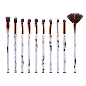 cheap Makeup Brush Sets-Professional Makeup Brushes 10pcs Soft New Design Full Coverage Lovely Comfy Plastic for Makeup Set Makeup Tools Makeup Brushes Makeup Brush Eyeshadow Brush