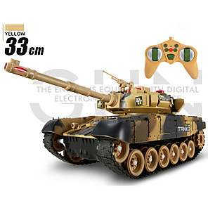 cheap RC Cars-Large Against Tanks Charging Remote Control Car Remote Control Tank Model The Boy Children Military Ttoy Car