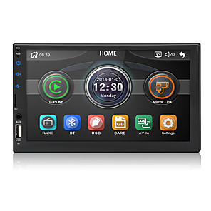 cheap Car DVD Players-Chelong 2din Car radio 7'' Carplay mp5 Mirror link Android 9.0 Multimedia Player Bluetooth USB Rear View Camera MP5 Player Double Din Auto