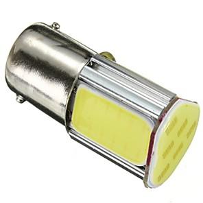 cheap Motorcycle Lighting-2 x 1156 G18 Ba15s 4 COB Car LED Turn Signal Rear Light Bulbs