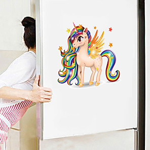 cheap Wall Stickers-Cute Cartoon Wall Stickers - Animal Wall Stickers Animals / Landscape Study Room / Office / Dining Room / Kitchen-F