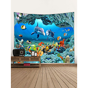 cheap Wall Stickers-Classic Theme Wall Decor 100% Polyester Classic Wall Art, Wall Tapestries Decoration