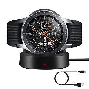 cheap Wireless Chargers-Smartwatch Charger / Dock Charger / Wireless Charger USB Charger USB with Cable 5 A DC 5V for Gear Sport / Gear S3 Frontier / Gear S3 Classic