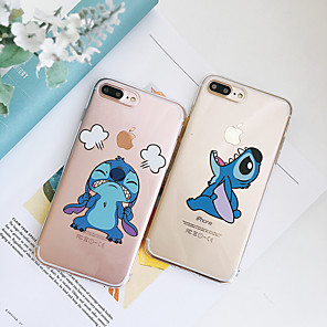 cheap iPhone Cases-Case For Apple iPhone XS / iPhone XR / iPhone XS Max Shockproof / Dustproof / Transparent Back Cover Transparent / Cartoon TPU