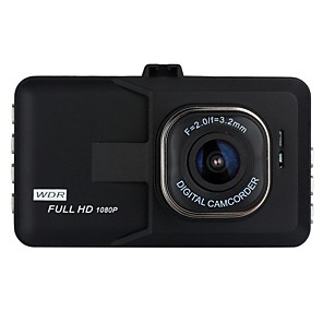cheap Car Headlights-1080p Full HD Car DVR 170 Degree Wide Angle 3 inch LCD Dash Cam with Night Vision / G-Sensor / motion detection Car Recorder