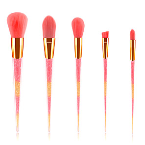 cheap Makeup Brush Sets-Professional Makeup Brushes 5 pcs Soft New Design Full Coverage Lovely Comfy Plastic for Makeup Set Makeup Tools Makeup Brushes Blush Brush Makeup Brush Eyeshadow Brush