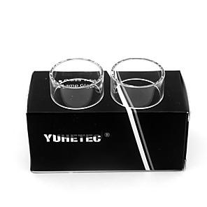 cheap Vapor Accessories-YUHETEC Replacement Bulb Glass Tube for Unity RTA 5ml 2PCS