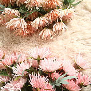 cheap Artificial Plants-47cm Crab Claw Chrysanthemum Simulation Flower Home Decoration Wedding Bouquet Plant 1 Stick