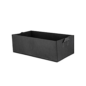 cheap Artificial Flowers & Vases-Square Garden Growing Bags Planter Bag Plant Tub Container with Handles for Harvesting Growing Vegetables