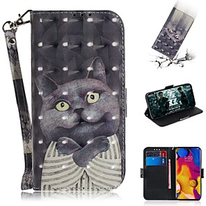 cheap Other Phone Case-Case For LG LG V40 / LG Stylo 5 / LG G8 Wallet / Card Holder / Shockproof Full Body Cases PU Leather