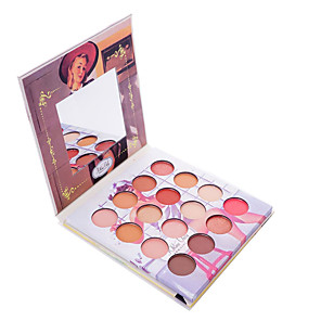 cheap Eyeshadows-16 Colors Eyeshadow EyeShadow Outdoor Pro Easy to Use Ultra Light (UL) Professional Daily Makeup Cosmetic Gift