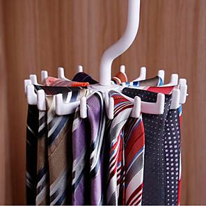 cheap Storage & Organization-Plastic Portable / Non-Slip / Thickening Tie Hanger, 1pc