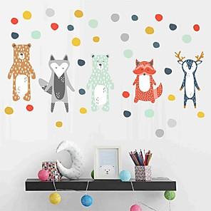 levne Samolepky na zeď-ozdobné samolepky na zeď - samolepky na stěnu zvířata dětská pokoj / dětský pokoj