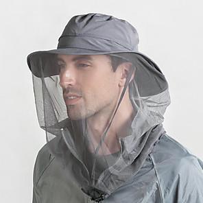 povoljno Industrijska zaštita-vanjski 360 šešir protiv komaraca ribolov kišobran šešir od sunca sa mrežicom protiv komaraca za muškarce žene planinarske kape za kampiranje prozračne