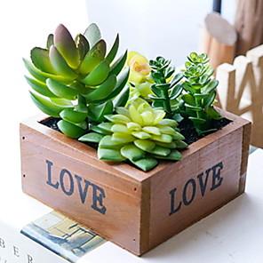 cheap Artificial Plants-Artificial Plants PU Pastoral Style Tabletop Flower 1
