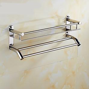 cheap Bathroom Gadgets-Bath Ensemble Creative Contemporary Stainless Steel / Iron 1pc Wall Mounted