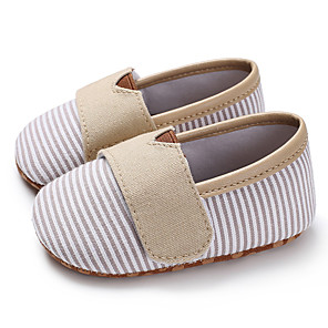 cheap Kids' Loafers-Boys' / Girls' First Walkers / Children's Day Canvas Loafers & Slip-Ons Infants(0-9m) / Toddler(9m-4ys) Almond / Pink / Dark Blue Spring / Summer