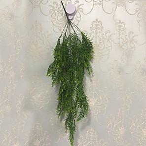 cheap Artificial Plants-Artificial Plants Fabric Pastoral Style Basket Flower 1