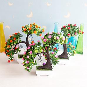 cheap Artificial Plants-Artificial Plants Polyester Rustic Irregular Tabletop Flower Irregular 1