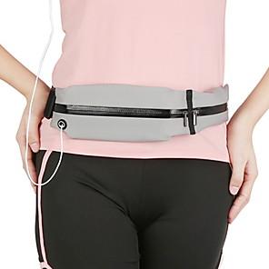 cheap Running Bags-Running Belt Fanny Pack Waist Bag / Pack for Running Outdoor Exercise Outdoor Bike / Cycling Sports Bag Multifunctional Waterproof Portable Nylon Neoprene Running Bag Adults
