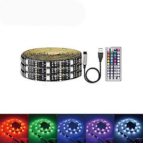 cheap LED Strip Lights-LOENDE 5m Light Sets LED Light Strips RGB Tiktok Lights 150 LEDs SMD5050 1 set USB / Party / Self-adhesive 5 V / USB Powered