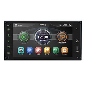 cheap Car DVD Players-Chelong Car Multimedia player 2 din car radio 7 Inch mirror link Andorid 9.0 bluetooth USB rear view camera For Toyota Corolla