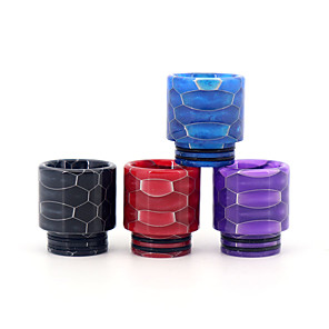 cheap Vapor Accessories-YUHETEC 810 Universal Long Resin drip tip for TFV8 Big Baby/TFV12 Prince/Griffin 25/ijust 3/ELLO Duro/Pharaoh Mini/ammit 25/Creed RTA Atomizer