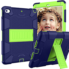 cheap iPad case-Case For Apple iPad Mini 5 / iPad Mini 4 with Stand / Child Safe Case Back Cover Armor Silica Gel