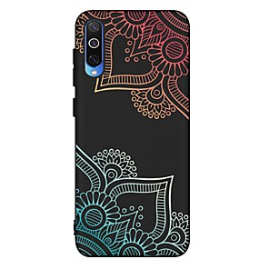 cheap Samsung Case-Case For Samsung Galaxy A6 (2018) / A6 Plus/A7(2018) Shockproof / Frosted / Pattern Back Cover Flower TPU Soft For Galaxy A10/A20/A30/A20E/A40/A50/A70/A80/A8 2018/A9 2018/A5 2017/A5 2016/A8 Plus